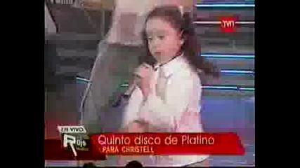 Christell - Mueve El Ombligo (cover).
