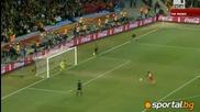 Уругвай - Гана 5:3 след дузпи (1:1 в редовното време) (1/4 финали)
