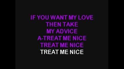 Elvis Karaoke - Treat Me Nice