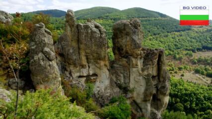 Уникалните скали на Костената планина над Дъждовница
