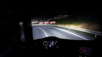 Euro Truck Simulator 2 #20 никога Не карайте така ама Никога :d