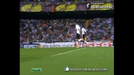 Valencia 0 - 1 (agg 2 - 5) Atletico Madrid, ( Adrian 60 ) Uefa Europe League 26.04.2012