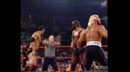 WWF Hollywood Hulk Hogan & The Rock vs. New World Order