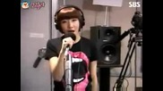 2ne1 - Take A Bow Cover on Choi Hwa Jungs Power Time (june 10,  2009)