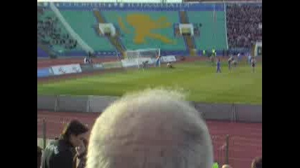 Левски - Черноморец Бургас (София) 10:0