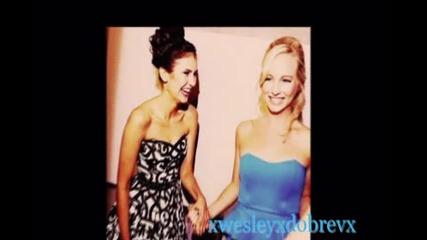 Caroline & Elena Best Friends