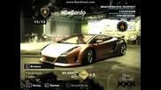 nfs most wanted моите коли от кариерата/my cars