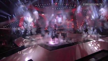 Турция / Can Bonomo - Love Me Back / Live - Евровизия 2012