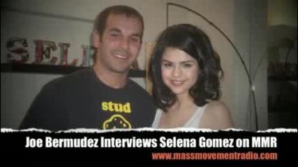 joe bermudez interviews selena gomez on mass movement radio