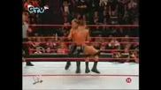 Randy Orton Vs Chris Jericho (BG Audio)
