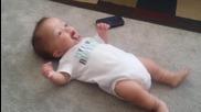 Бебе тотално откача на песента Turn Down For What