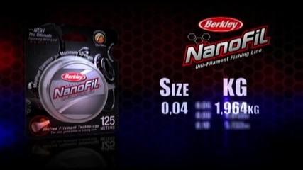 Нова поколение влакна - berkley_nanofil