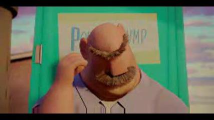 анимация - Облачно с кюфтета Imax 3d