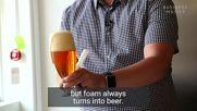 Как се налива правилно бира