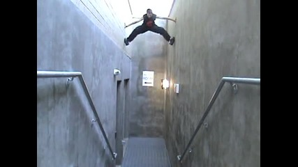 Ако трябва да се качите някъде , а няма стълби , това е начина