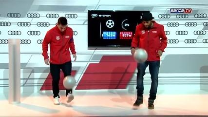 Messi vs Neymar :)