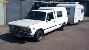 Fiat 125p пикап с каравана