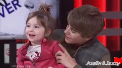 Justin Bieber & His Little Sister Jazmyn // Smile {h}