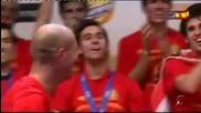 Пепе Рейна Представя Отбора на Испания * Pepe Reina Show *