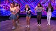 Pow Pow Girls sing - The X Factor Uk 2014