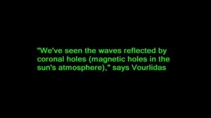 Наса - Чудовищните вълни на повърхността на Слънцето са реални - 2011/2012