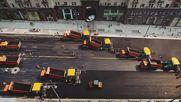 Как се асфалтират 32 000 кв.м за един ден