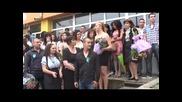 """Изпращане на зрелостниците на випуск 2012 в Соу """"христо Проданов"""" 15.05.2012г."""