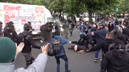 France: Water cannon deployed in Paris as more than 100k join Labour Day rallies nationwide
