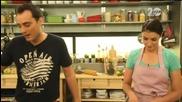 Пълнени чушки с пилешко, боб и царевица - Бон апети (25.09.2014г.)