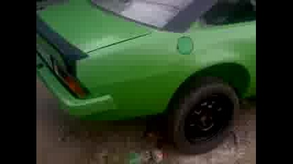 Опел Манта Б Green Black Top