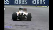 nicole on F1 clip (bbc sport)