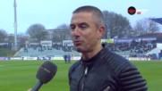 Симеон Симеонов: Настроението в отбора е бойко, а по трибуните - вяло