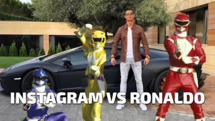Instagram се подиграва на Кристиано Роналдо