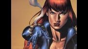 Мега великата и бойна комикс героиня на Марвел - Наташа Романоф / Черната Вдовица