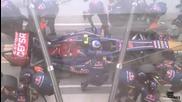 Как сменят гуми във F1