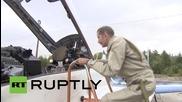 Russia: US citizen talks MiG-29 flight experience
