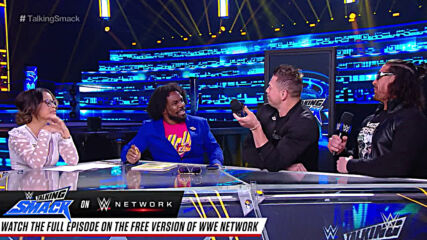 Superstars speak their mind on Talking Smack: WWE Network Pick of the Week, Sept. 18, 2020