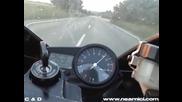 Ловеч - Плевен - За 7 мин. с Yamaha R1