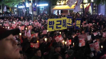 South Korea: Thousands urge President Park Geun-hye to quit following scandal