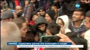 Анджелина Джоли при бежанците в Гърция