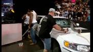 Wwe John Cena И Cryme Tyme потрошават лимузината на Jbl {hq!} 07.07.08