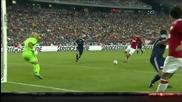 Берба и Рууни се късат да пропускат, Юнайтед бие в Сащ