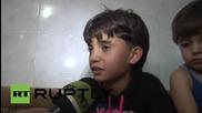 Разказ за кошмарите в Сирия от първо лице