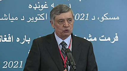 Russia: We must prevent humanitarian crisis in Afghanistan, Putin's envoy says at Moscow talks