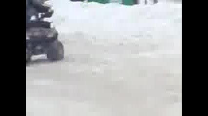 Атв На Сняг
