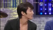 Siwon & Yonghwa imitating ~ Fly to The Sky ; Brian