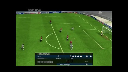 Fifa 10 - Гол на Кака