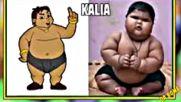 Chhota Bheem Characters in Real Life - Youtube