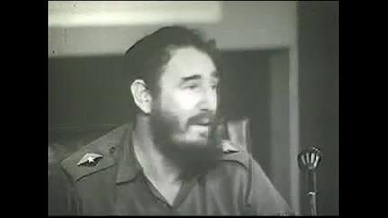 Fidel Castro - Contra el Tiburon Imperialista