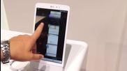 Lg G Pad 8.3 tablet at Ifa 2013 Berlin preview - tablet.bg